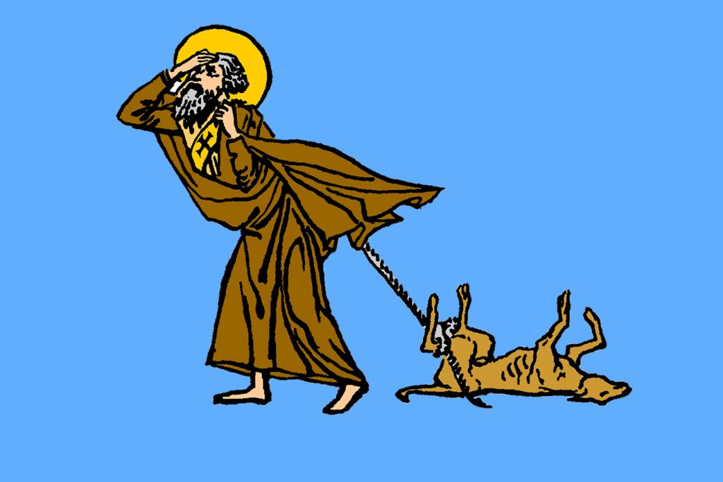 Image of St Simeon the Holy Fool