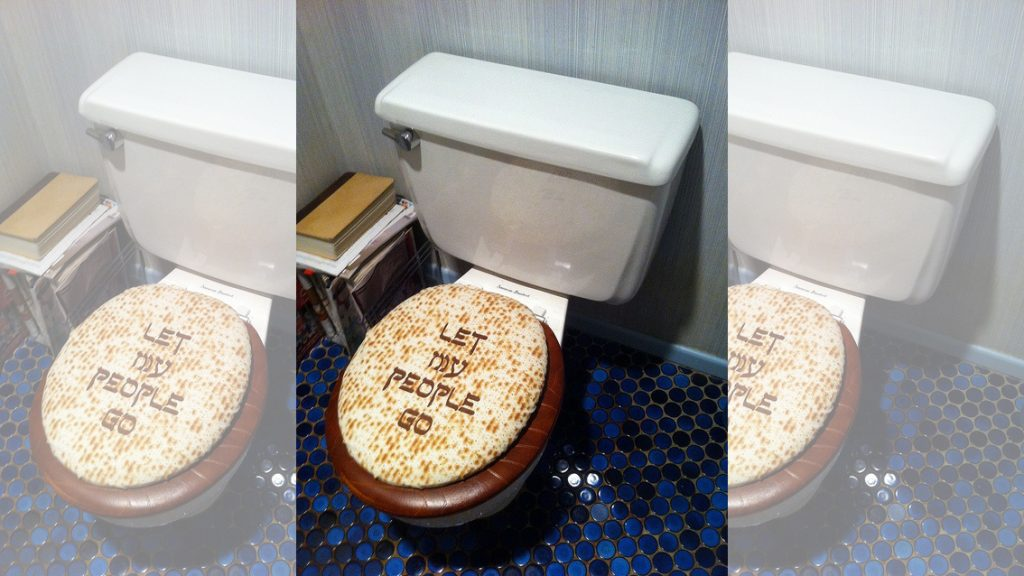 Photo of Let My People Go toilet seat cover