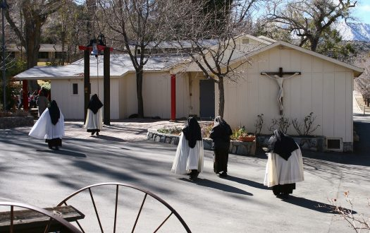 St Andrew's Abbey, Valyermo, California, USA