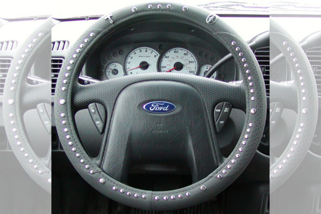 steering wheel rosary