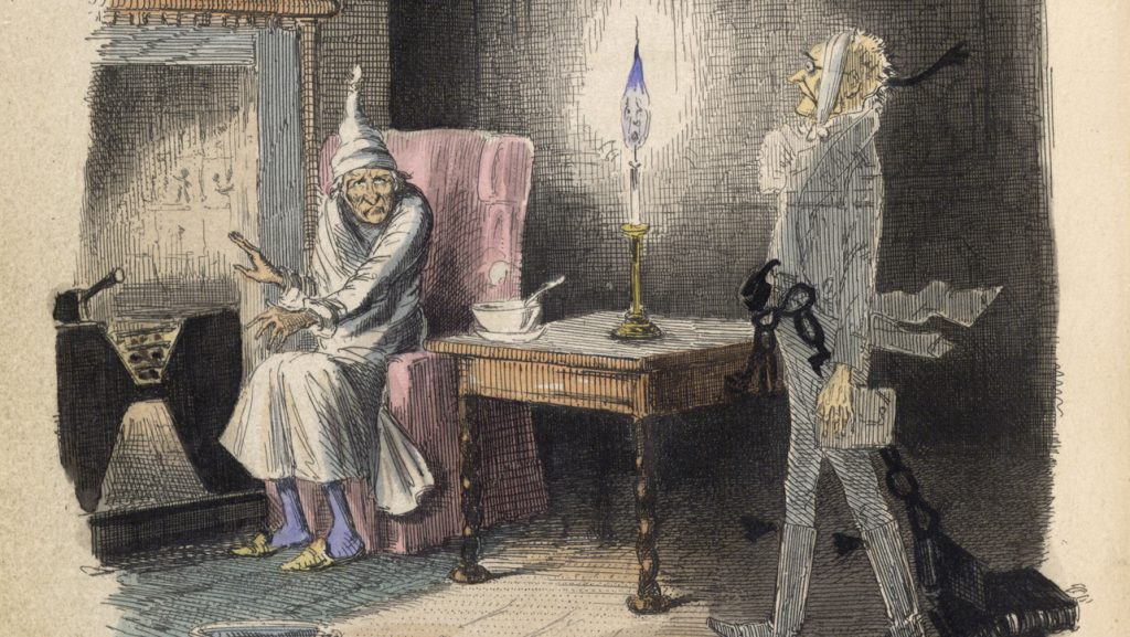 Illustration from A Christmas Carol