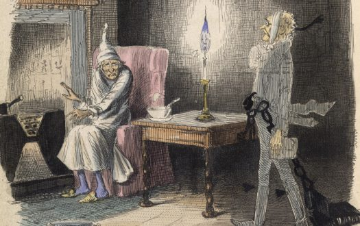 Illustration from A Christmas Carol