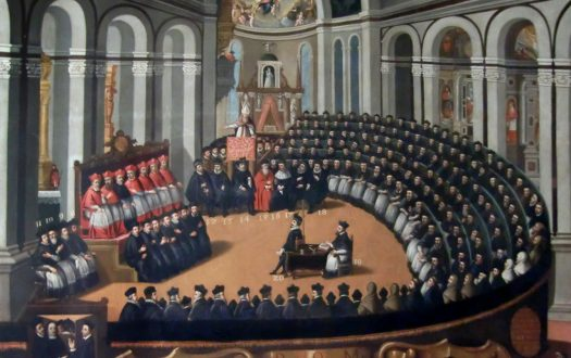 Painting of the Council of Trent