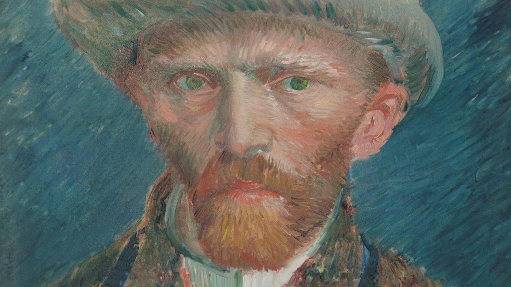 Self-portrait, Vincent van Gogh, 1887