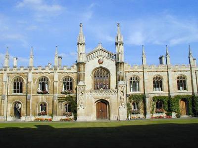 Corpus Christi College Chapel, Cambridge, England