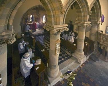 St Mary, Hay-on-Wye, Brecknockshire, Wales