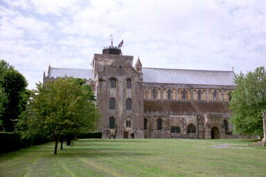 Romsey Abbey, Romsey, Hampshire, England