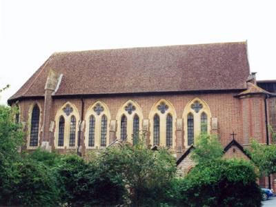 The Priory Church of Our Lady of England, Storrington, West Sussex