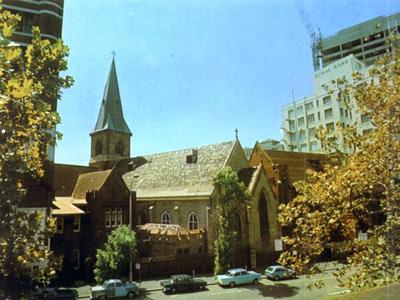 Christ Church St Laurence, Railway Square, Sydney, Australia