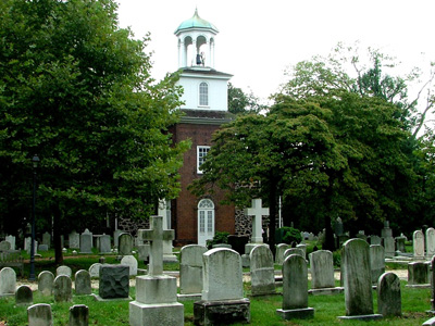 Old Swedes Church, Wilmington, Delaware, USA