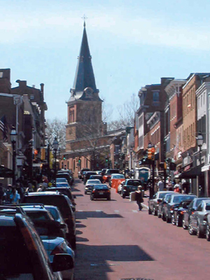 St Anne's, Annapolis, Maryland, USA