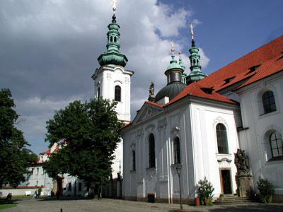 The Basilica of the Assumption of Our Lady, Strahov Monastery, Prague