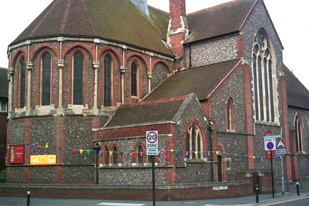 St Barnabas, Hove, East Sussex, England