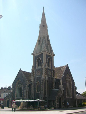 St John the Baptist, Hove, East Sussex, England