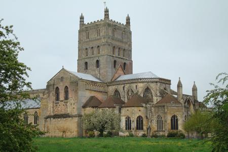 Tewkesbury Abbey, Tewkesbury, Gloucestershire, England