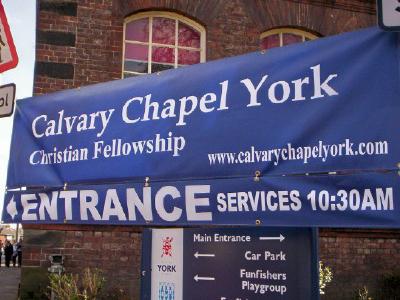 Calvary Chapel, York, England