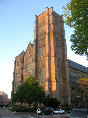 Cathedral of the Holy Cross, Boston, Massachusetts, USA