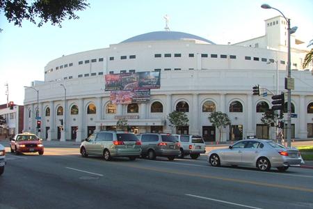 Angelus Temple, Los Angeles, California, USA
