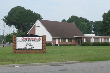 Portsmouth United Church of Christ, Portsmouth, Virginia, USA