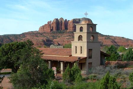St Luke's, Sedona, Arizona, USA