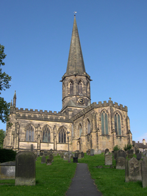Bakewell Parish Church, Bakewell, Derbyshire, England