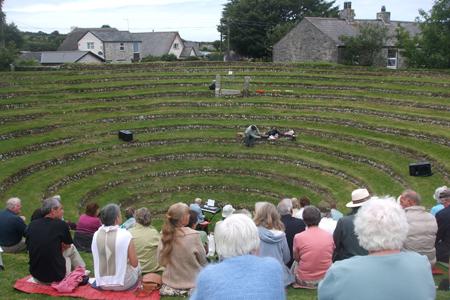 Gwennap Pit, Cornwall, England