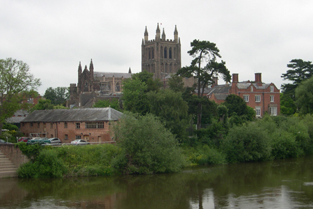 Hereford Cathedral, Hereford, England