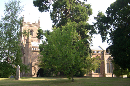 The Priory Church of St Peter and St Paul, Leominster, England