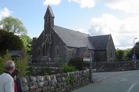 St John the Baptist, Llanystumdwy, Wales
