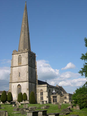 St Mary's, Painswick, Gloucestershire, England