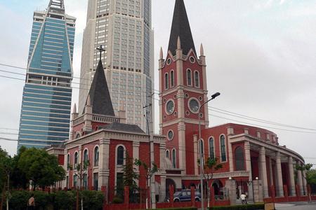 Sacred Heart of Jesus, Pudong, Shanghai, China