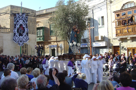 The Good Friday Procession, St Catherine of Alexandria, Zejtun, Malta