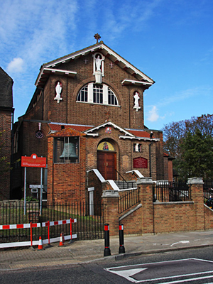 St Mary and St Andrew, Dollis Hill, London