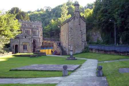 St Winefrides Holywell (Exterior)