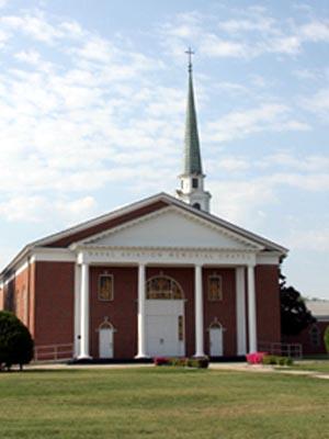 Naval Chapel Pensacola (Exterior)