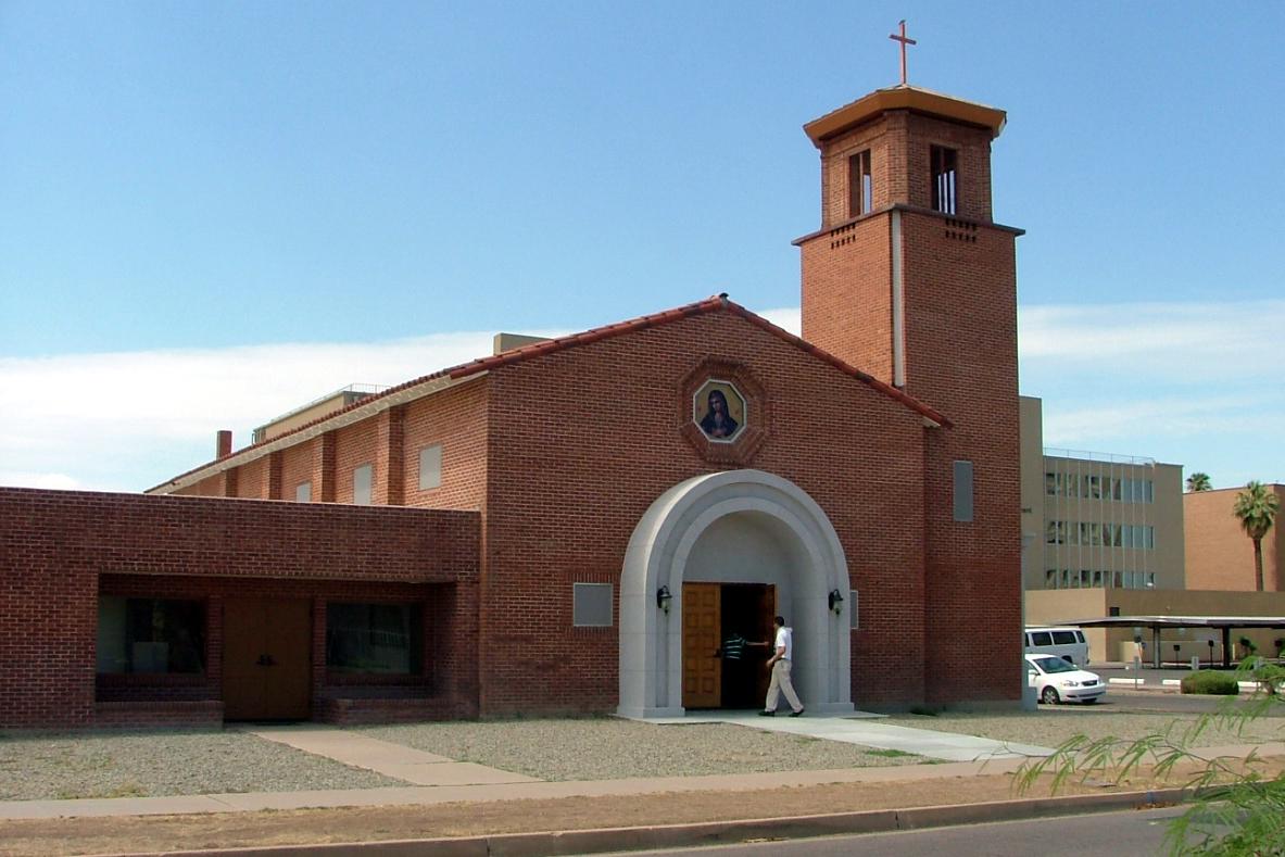 Mater Misericordiae, Phoenix (Exterior)