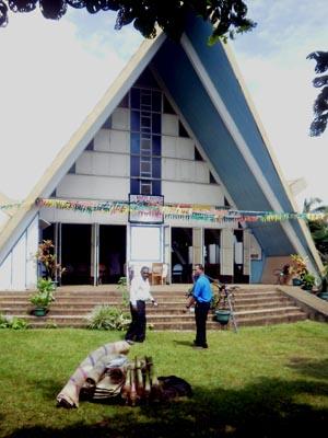 Paton Memorial Port Vila (Exterior)