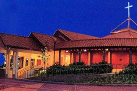Barker Road Methodist, Singapore (Exterior)