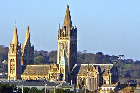 Truro Cathedral, Truro, Cornwall, England