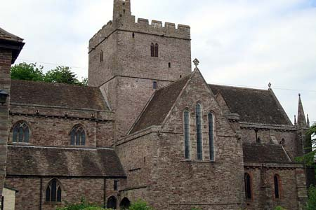 Brecon Cathedral, Wales (Exterior)
