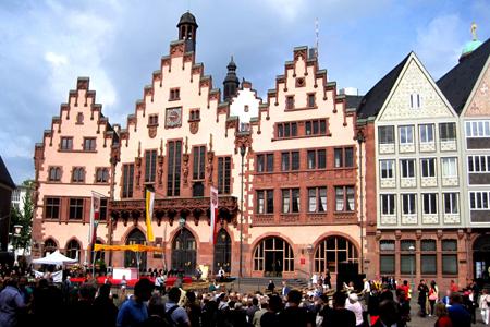 Corpus Christi celebration, Frankfurt (City Hall)
