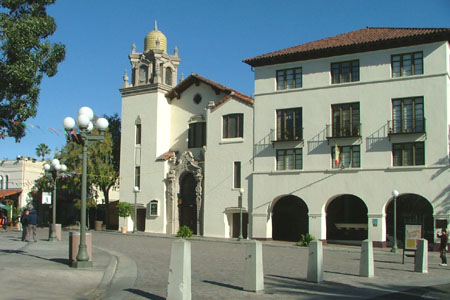 La Plaza Methodist, Los Angeles (exterior)