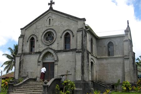 St Francis Xavier, Fiji (Exterior)