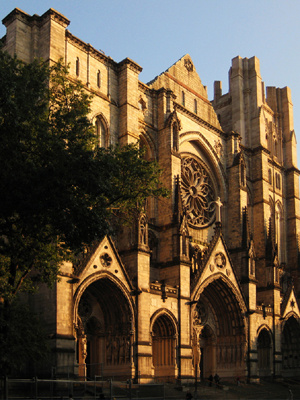 St John the Divine, New York (Exterior)
