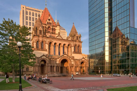 Trinity Church, Boston (Exterior)