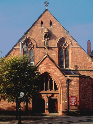 St Francis of Assisi, Chester (Exterior)