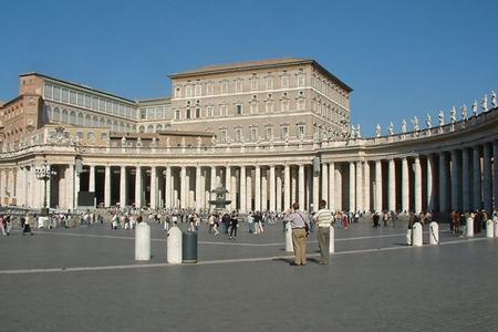 Conclave of Cardinals, Vatican (Exterior)