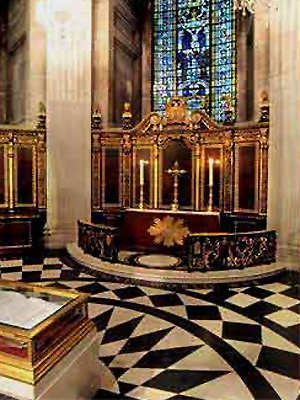 St Paul's Cathedral, London (American Chapel)