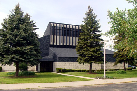 Queen of Peace, Mishawaka, IN (Exterior)