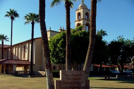 St Thomas the Apostle, Phoenix, AZ (Exterior) width=